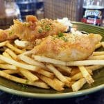 Beer Battered Fish and Chips - Copyright Crafty Beer Girls