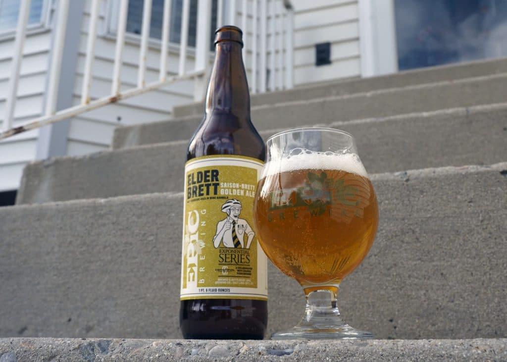 Elder Brett - Copyright Crafty Beer Girls