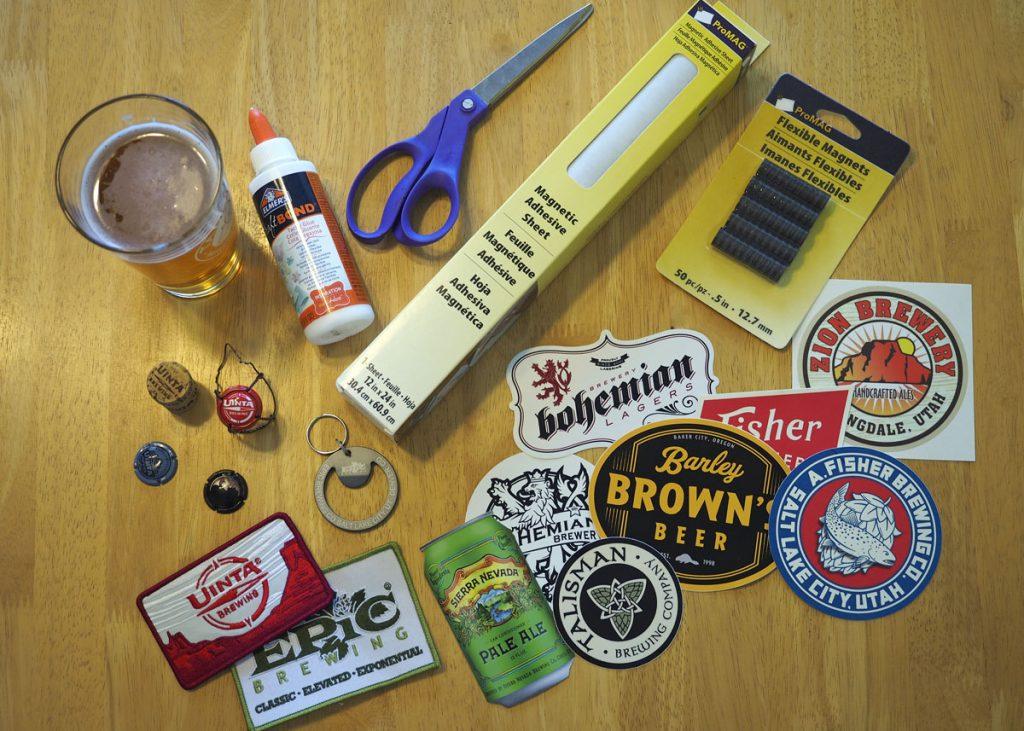 Magnet Supplies - Copyright Crafty Beer Girls