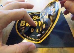 Sticker to Magnet - Copyright Crafty Beer Girls