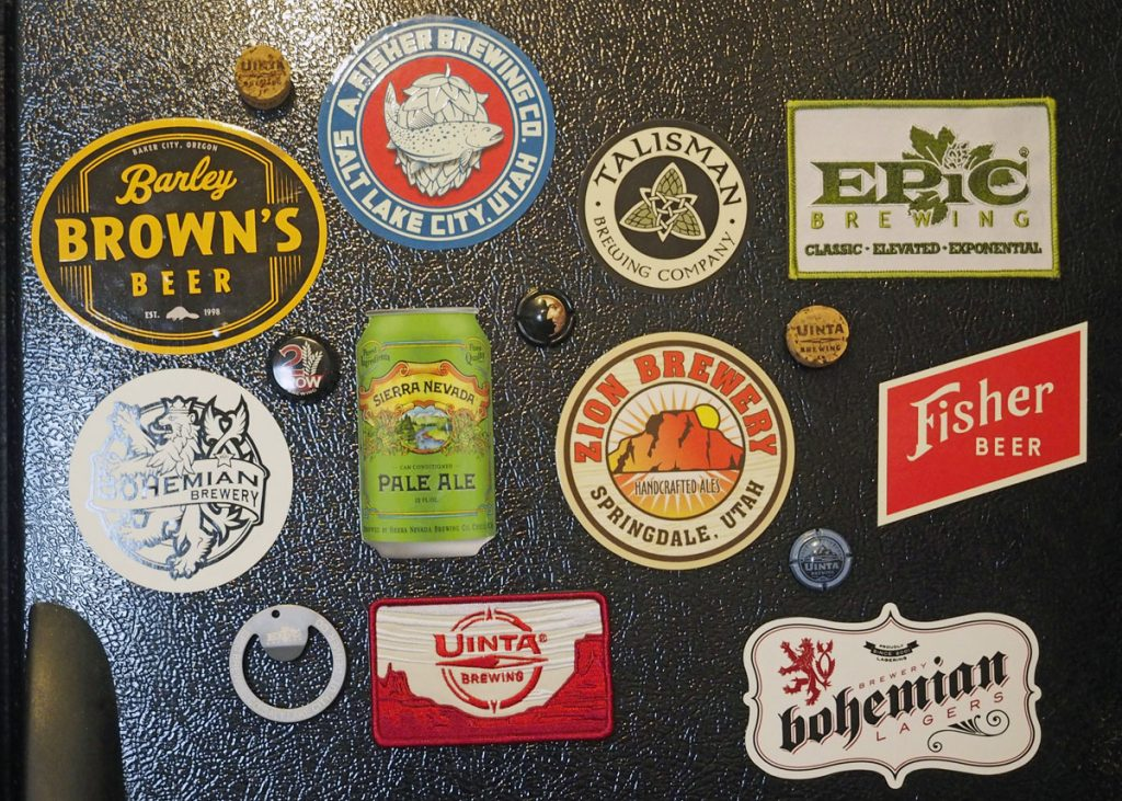 Beer Refrigerator Magnets - Copyright Crafty Beer Girls