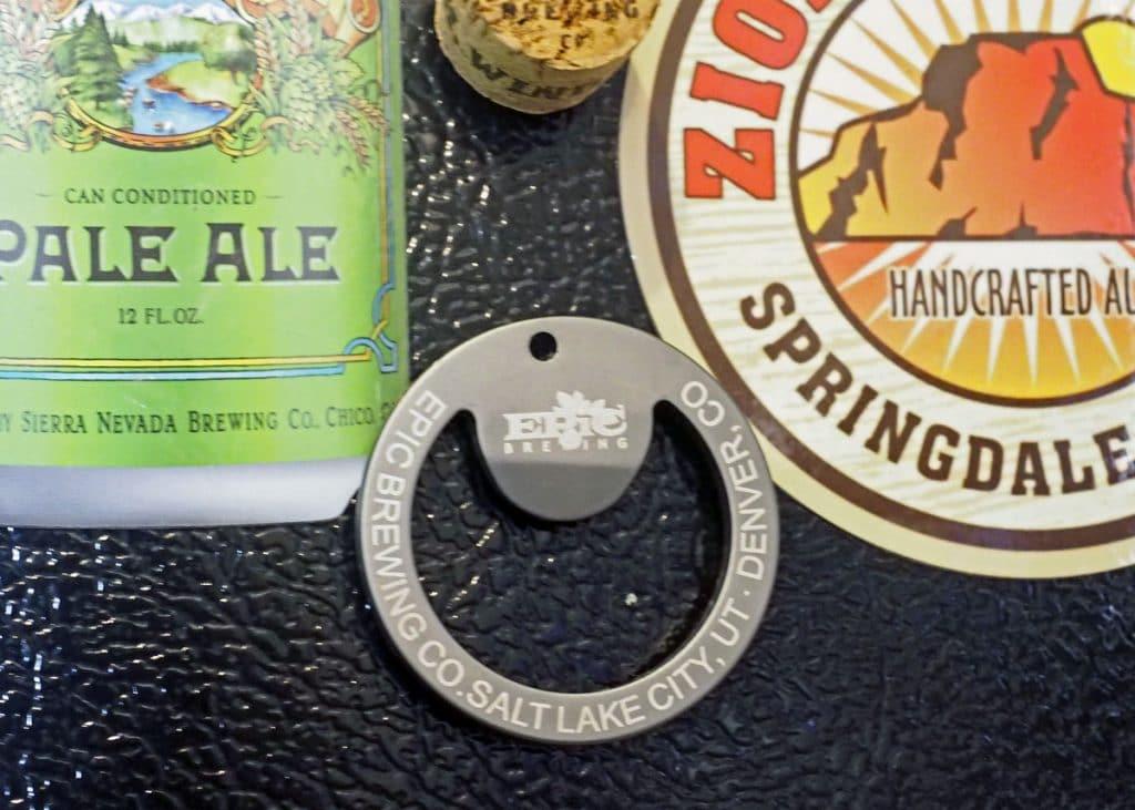 Keychain Opener Magnet - Copyright Crafty Beer Girls