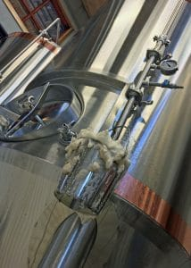 Dampfbier Fermentation - Copyright Crafty Beer Girls